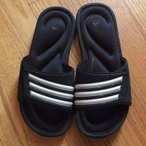 Kids adidas slides soccer sandals